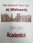 One Hundred Years Ago at Whitworth: Academics 1920-1921