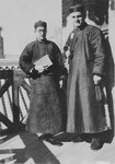 Fr. Paul Gilson and his Chinese language professor