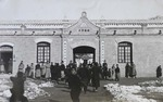 Anguo Catholic boys' school in winter