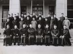 Fr. Raymond de Jaegher, Bp. Paul Yu Pin, and Fr. André Boland.