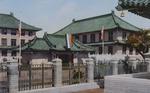 Color postcard of Peking Union Medical School 2