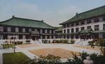 Color postcard of Peking Union Medical School 3