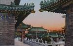 Color postcard of Peking Union Medical School 4