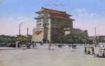 Postcard of the pagoda of Llama Temple