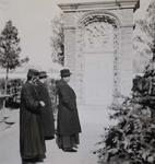 Garden of the apostolic delegation in Beijing