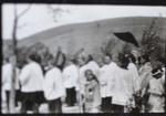 Procession at the Discipuli Domini seminary
