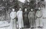 Fr. Léon Pardoen and seminarians