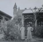 Frs. Herman Unden and Michel Keymolen