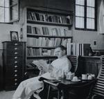 Fr. Herman Unden reaading