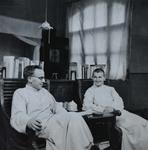 Fr. Michel Keymolen and Herman Unden