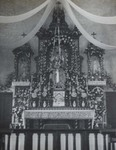 Altar of the church of Nanguan by Fr. Michel Keymolen