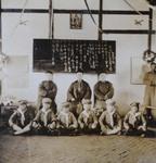 Bishop Zhu Kaimin with school children