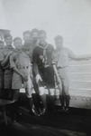 Fr. Charles Meeus and Chinese scouts on board the President Taft