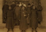 Bp. Pierre Tch'eng and four priests