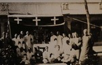 Bp. Pierre Tch'eng and some of his priests 2