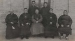 Three Chinese bishops and clergy