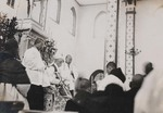 Priest ordination ceremony in Anguo cathedral