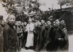 Minor seminarians during recess