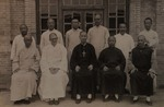 Bishop Sun Dezhen and the priests of his vicariate