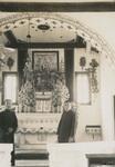Altar of the minor seminary chapel