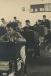 Minor seminarians in class