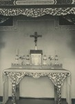 Altar and interior of the chapel at the Xuanhua procurement house in Beijing 3