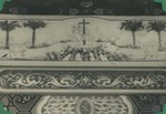 Above altar decorations in the chapel at the Xuanhua procurement house in Beijing 4