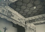 Ceiling decorations in the chapel at the Xuanhua procurement house in Beijing 3