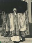 Fr. Paul Gilson in a ceremonial Buddhist Robe 1