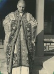 Fr. Paul Gilson in a ceremonial Buddhist Robe 4