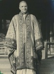 Fr. Paul Gilson in a ceremonial Buddhist Robe 9