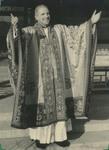 Fr. Paul Gilson in a ceremonial Buddhist Robe 10