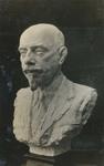 Bust of Joseph Hers sculpted by Tchang Tchong Zen