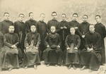 Fr. Vincent Lebbe with Chinese seminarians studying at the Propaganda College