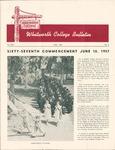 Alumni Magazine May 1957