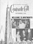 Alumni Magazine September 1960