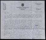Letter from Fr. Leonard Amrhein to Tom. by Fr. Leonard Amrhein C.P.
