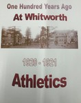 One Hundred Years Ago at Whitworth: Athletics 1920-1921
