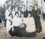 The 1921 Women's Basketball Team Picture