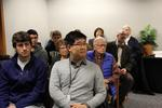 Joseph Ho, Dr. Anthony Clark, students, and attendees