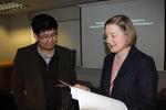 Joseph Ho and Dr. Amanda Clark