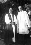Rev. John Magee and Bishop Shen, Clergy of the Anglican Church in China