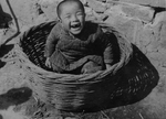 Chinese Orphan in a Basket