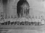 Altar Boys on Church Steps