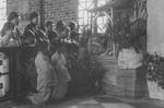 Chinese Catholic Girls at the Pingnan Convent