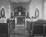 Children in the Jiangmen Seminary Chapel