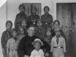 Bishop James A. Walsh, MM, with Chinese Boy Scouts