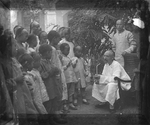 Fr. Vincent Lebbe Talking to a Group of Chinese Children