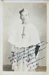 (Bishop) Cardinal Gong Pinmei:  Formal Portrait
