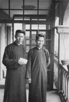 Two Chinese Priests at Meixian